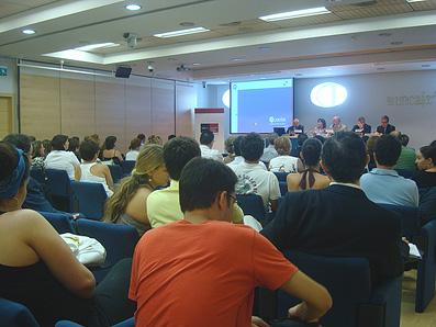 Universidad Europea de Madrid, uno de los cursos de verano 09. Fuente flickr, autor UEM
