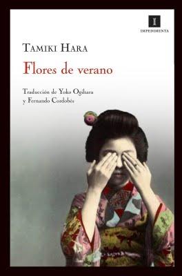 """Portada de la edición de Impedimenta de """"Flores de verano"""""""